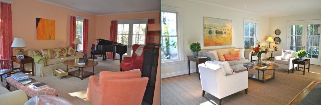 Home Staging Tips Before and After