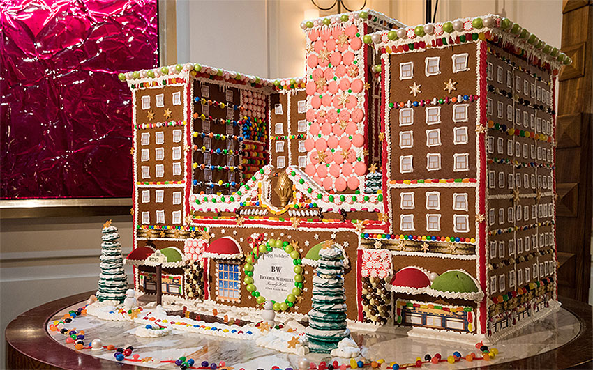 Beverly Wilshire Gingerbread Hotel