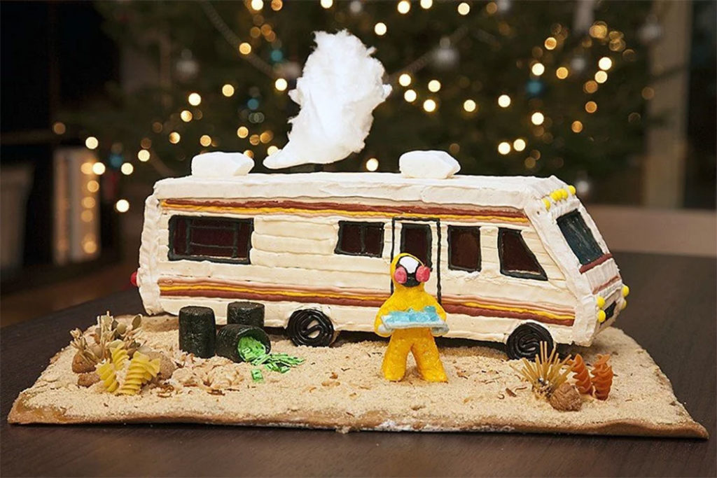 Breaking Bad RV Gingerbread House