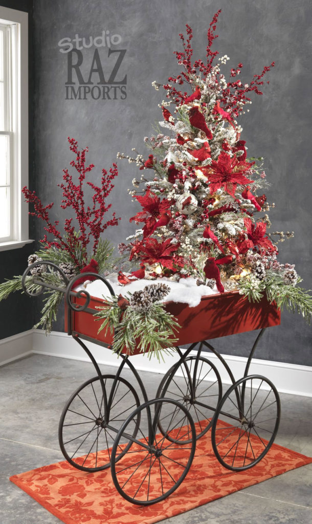 Country Carriage Christmas Tree