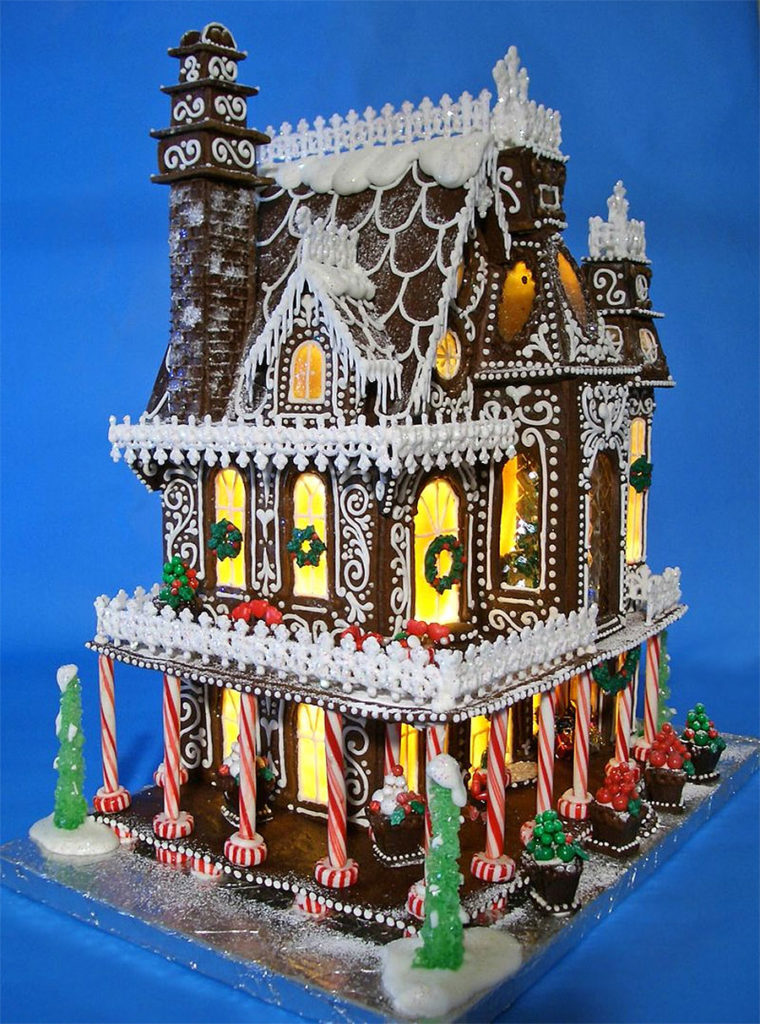 Gingerbread Century Home