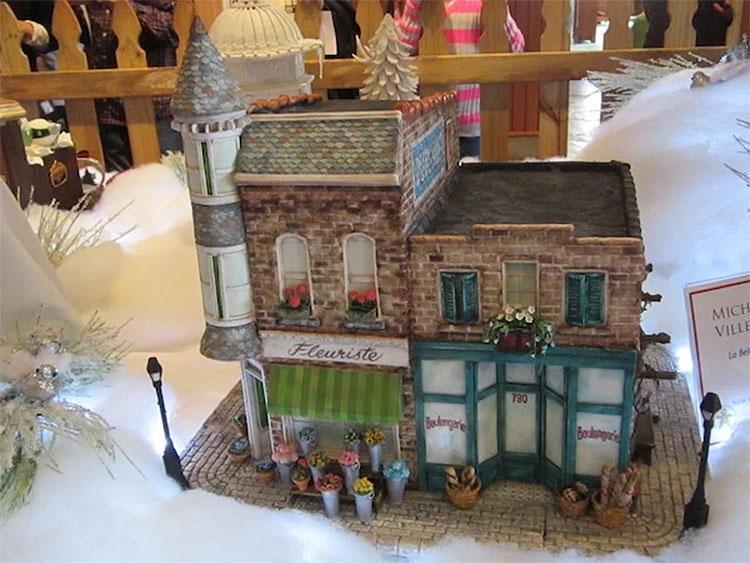 Gingerbread Maison au Francais