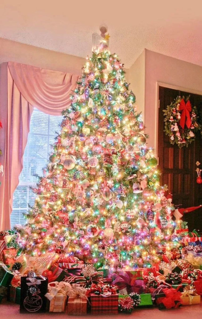 Pretty Pastels Christmas Tree