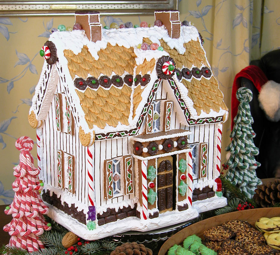 Victorian Gingerbread Farmhouse