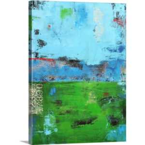 Urban Meadow by Erin Ashley Art Print on Canvas