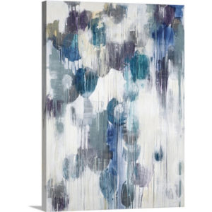 Life Aquatic by Liz Jardine Painting Print on Canvas | Canvas On Demand