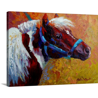 Pony by Marion Rose Art Print on Canvas