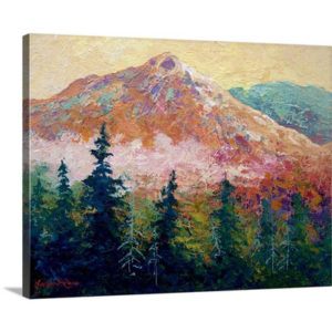 Mountain Sentinel by Marion Rose Art Print on Canvas