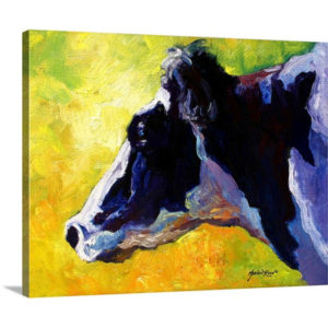Holstein by Marion Rose Art Print on Canvas