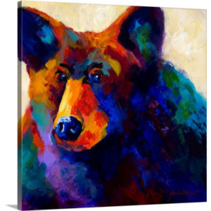 Beary Nice by Marion Rose Art Print on Canvas