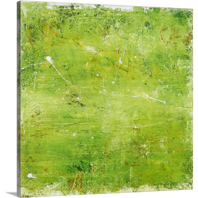 Green Mile by Erin Ashley Art Print on Canvas