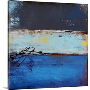 Blue Dreams in Rio by Erin Ashley Art Print on Canvas