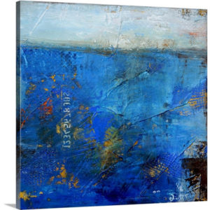 Deep by Erin Ashley Art Print on Canvas