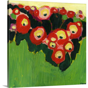 Posies Found by Jennifer Lommers Art Print on Canvas