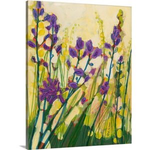 Camas in Bloom by Jennifer Lommers Art Print on Canvas