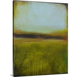 Serene Elegance by Erin Ashley Art Print on Canvas