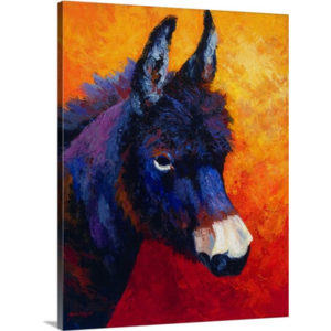 Little Jack by Marion Rose Art Print on Canvas