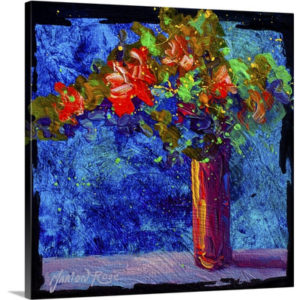 Abstract Bouquet II by Marion Rose Art Print on Canvas