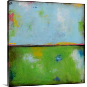 Spring Harbor II by Erin Ashley Art Print on Canvas