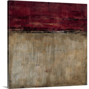 Pompeian Red by Liz Jardine Art Print on Canvas