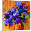 Abstract Bouquet III by Marion Rose Art Print on Canvas