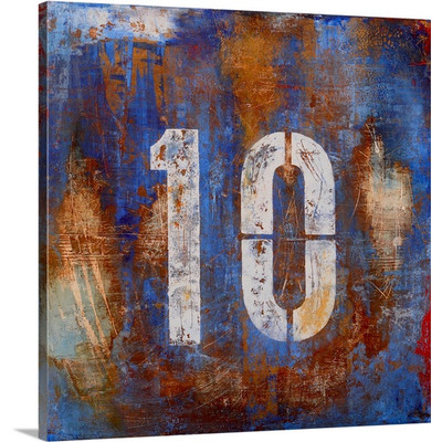 Ten by Erin Ashley Art Print on Canvas