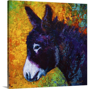 Little Sparky by Marion Rose Art Print on Canvas