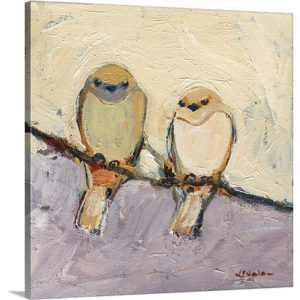 An Unspoken Bond by Jennifer Lommers Painting Print on Canvas