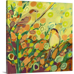 Hidden Together by Jennifer Lommers Art Print on Canvas