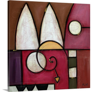 Redalo by Eric Waugh Painting Print on Canvas