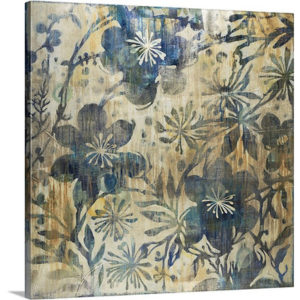 Daisychain by Liz Jardine Painting Print on Canvas