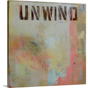 Unwind by Erin Ashley Art Print on Canvas