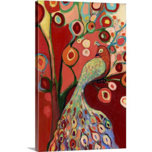 An Invitation in Red by Jennifer Lommers Art Print on Canvas
