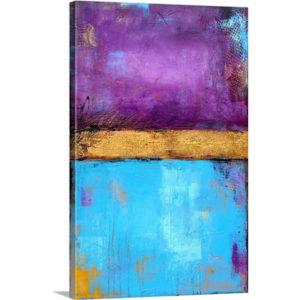 Jewel Box by Erin Ashley Art Print on Canvas