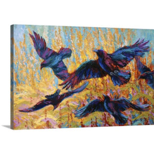 Corn Tag by Marion Rose Painting on Canvas