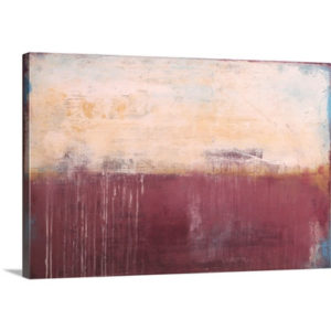 Vineyards Mist by Erin Ashley Art Print on Canvas