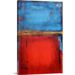 Station 45 by Erin Ashley Art Print on Canvas