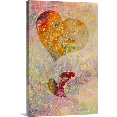 Heartfelt VI by Marion Rose Art Print on Canvas
