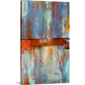 Track 505 by Erin Ashley Art Print on Canvas