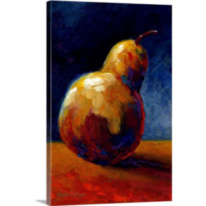 Pearfect by Marion Rose Art Print on Canvas