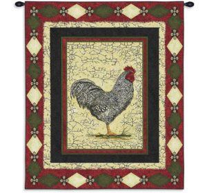 Country Le Coq (Rooster)   26 x 34