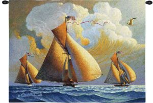 The Searam by Charles Wysocki | Wall Tapestry | 34 x 26