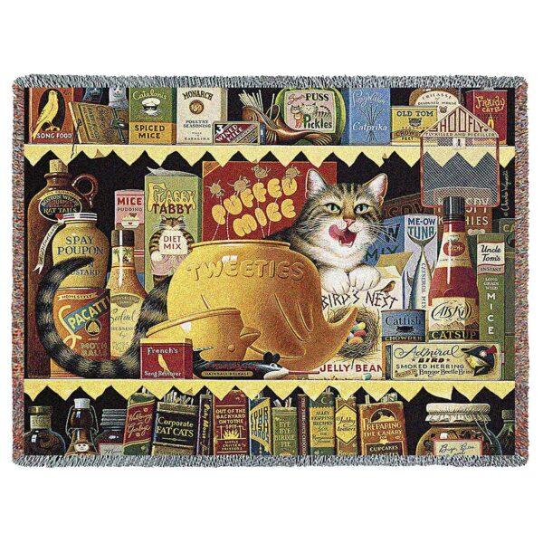 Ethel the Gourmet by Charles Wysocki | Throw Blanket | 70 x 54