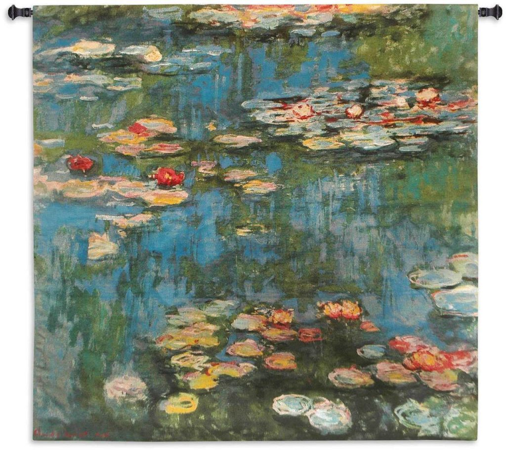 Claude Monet's Water Lilies Comes To Life as a Stunning Tapestry