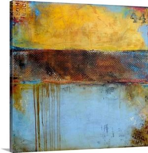 Crossroad 44 by Erin Ashley Art Print on Canvas