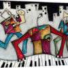 Silver City Jazz by Eric Waugh Painting Print on Canvas