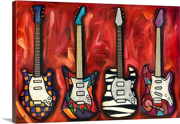 Tools of the Trade by Eric Waugh Painting Print on Canvas