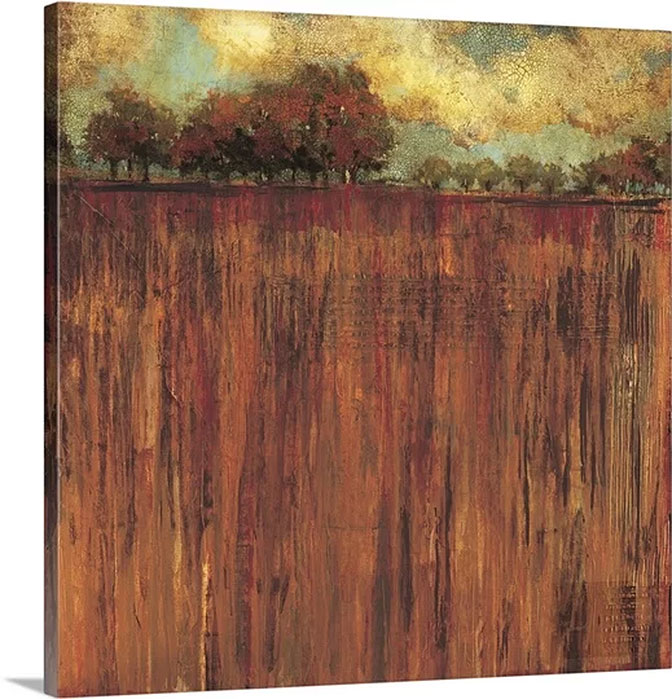 Horizon Line with Trees I by Liz Jardine Art Print on Canvas