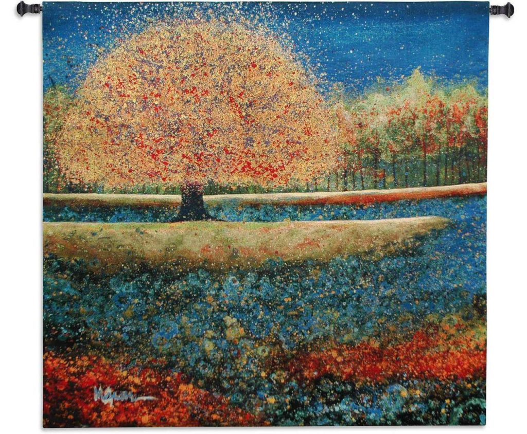 Jewel River by Melissa Graves Brown | Art Tapestry