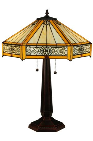 "24.5""H Peaches Table Lamp"